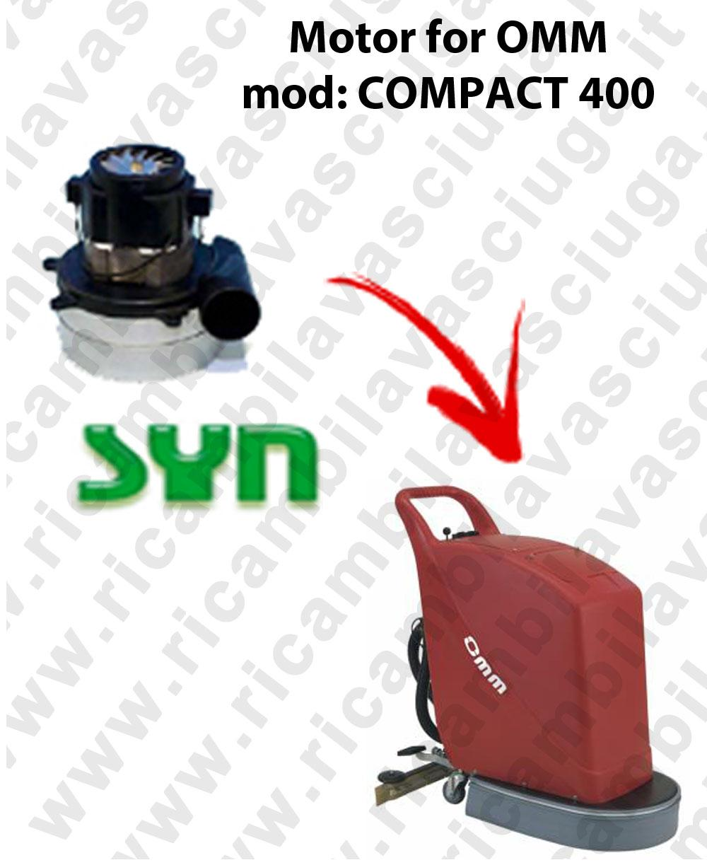 COMPACT 400 MOTORE SYNCLEAN di aspirazione para fregadora OMM
