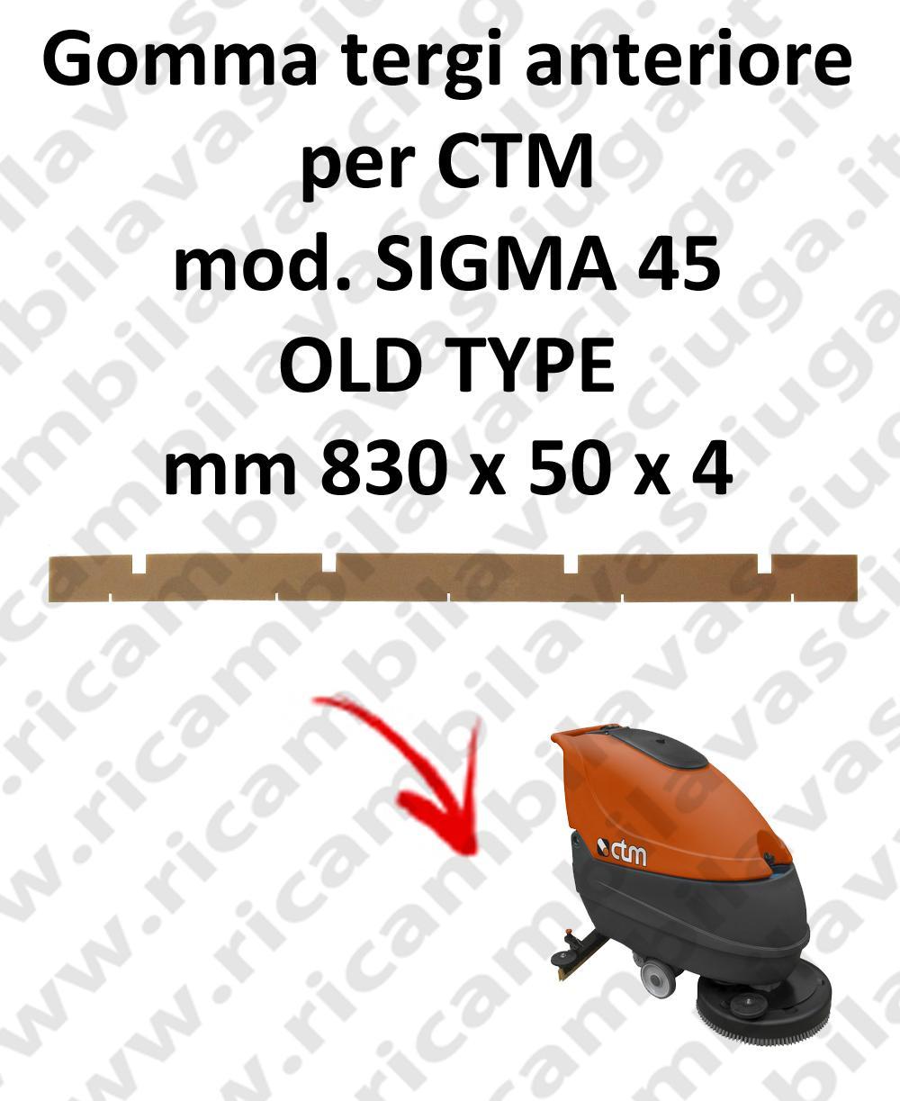 SWIFT 45 goma de secado delantera para CTM