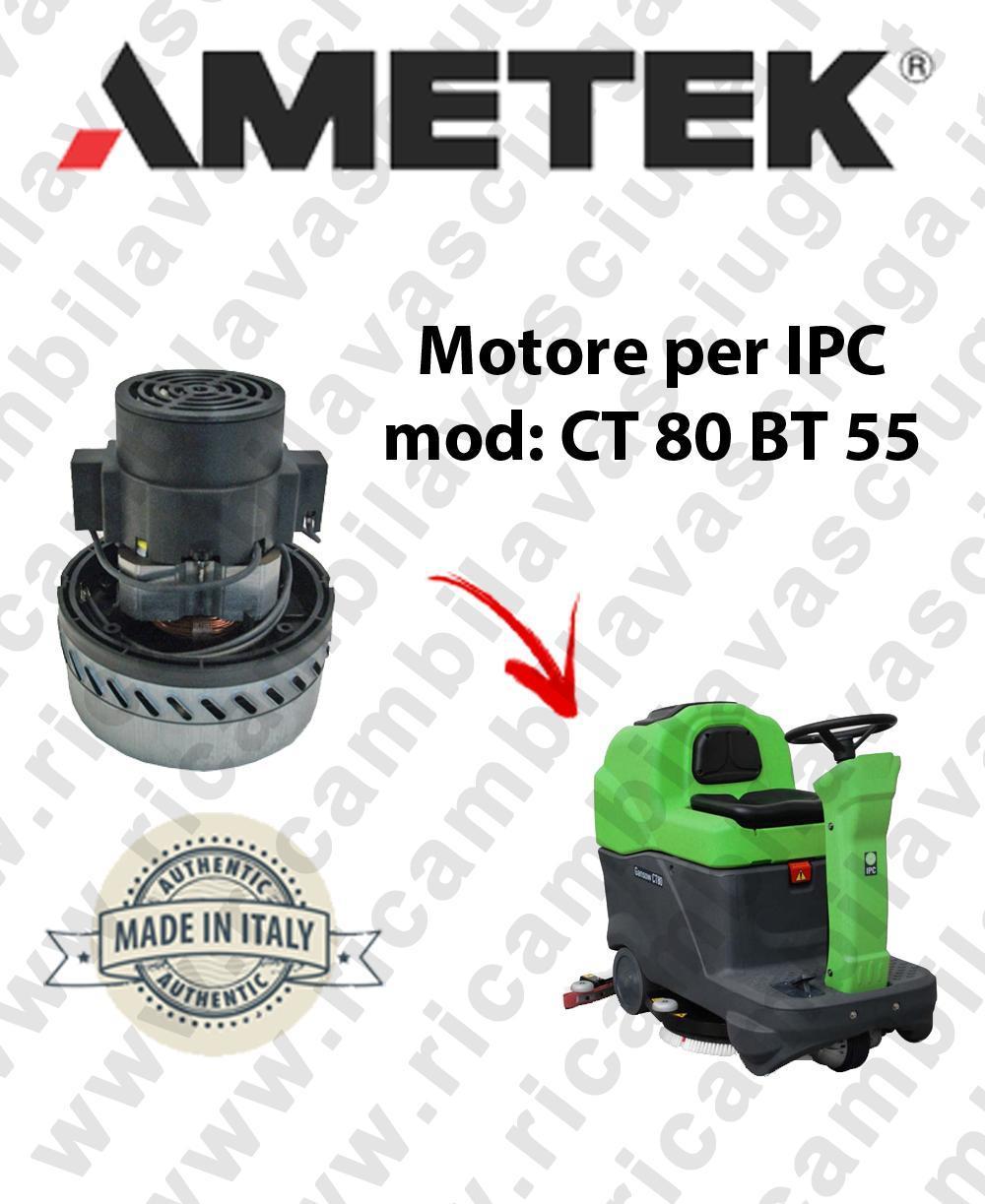CT 80 BT 55 motor de aspiración Ametek para fregadora IPC