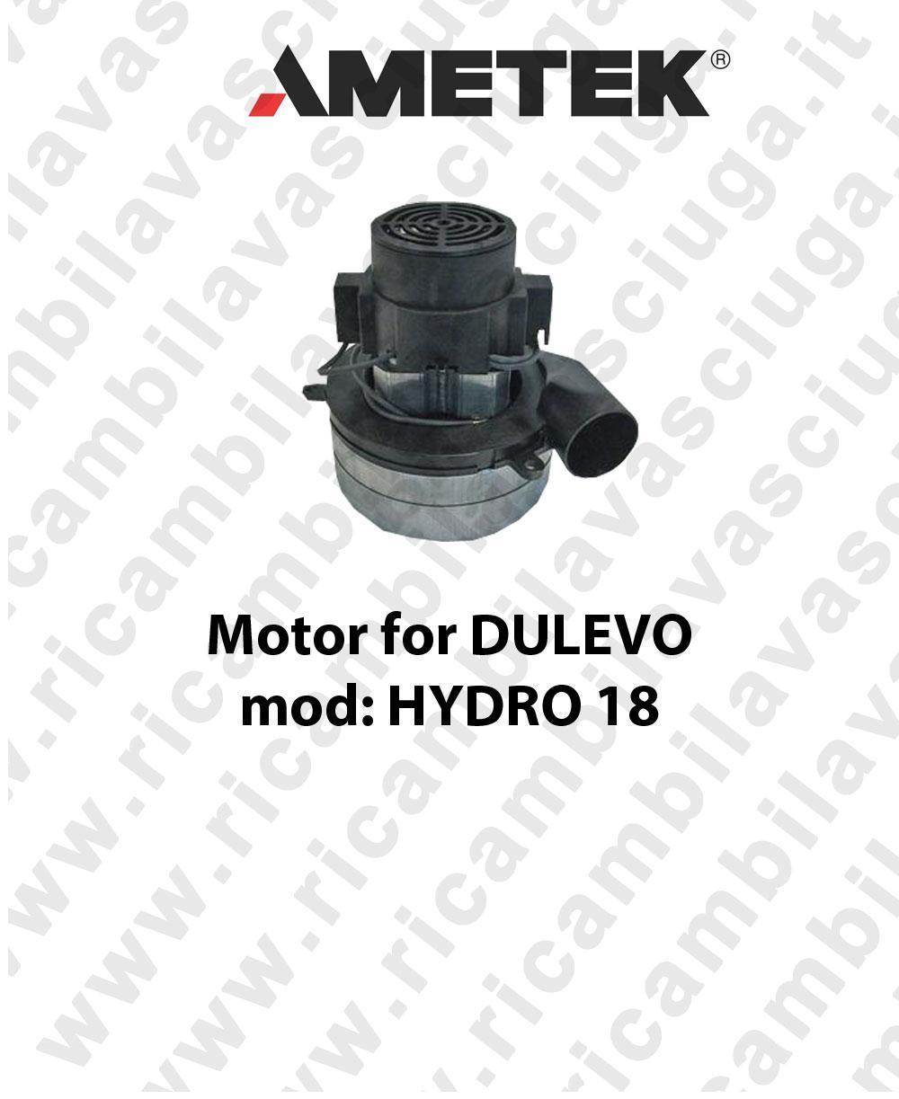 motor de aspiración para DULEVO mod. HYDRO 18