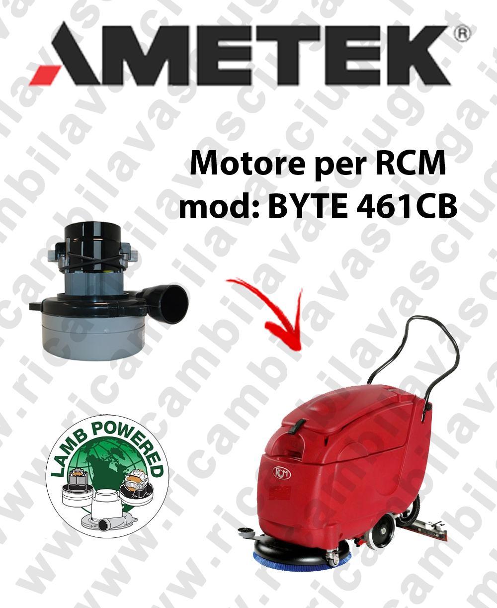 BYTE 461 CB MOTORE LAMB AMETEK aspirazione fregadora RCM