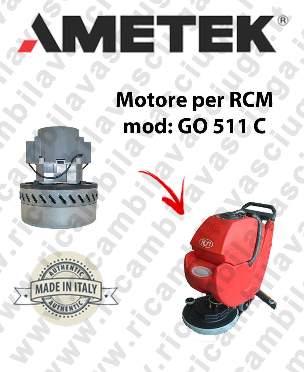 GO 511 C motor de aspiración AMETEK fregadora RCM