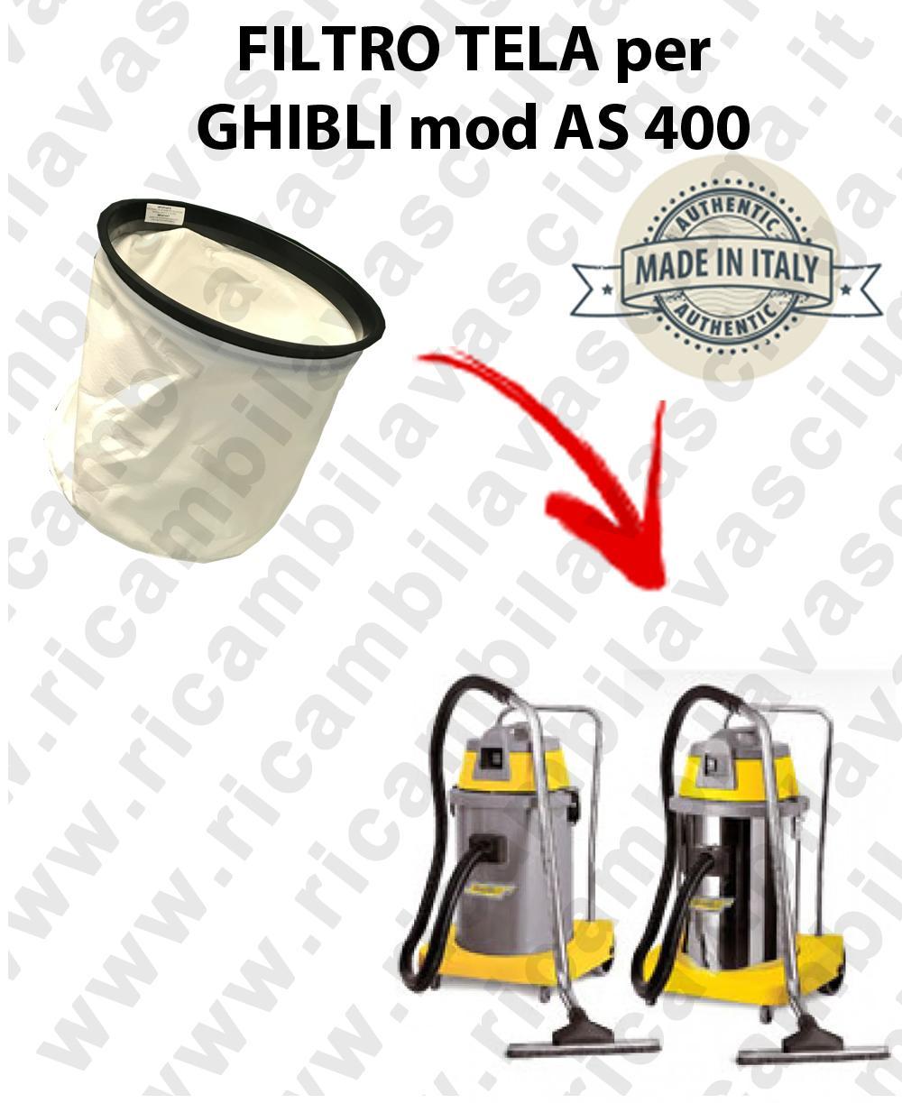 Filtro de tela para aspiradora GHIBLI Model AS 400