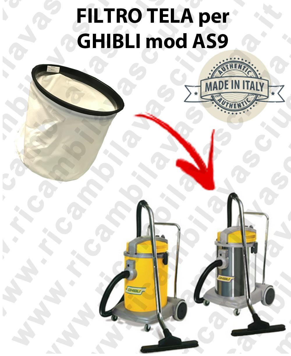 Filtro de tela para aspiradora GHIBLI Model AS9