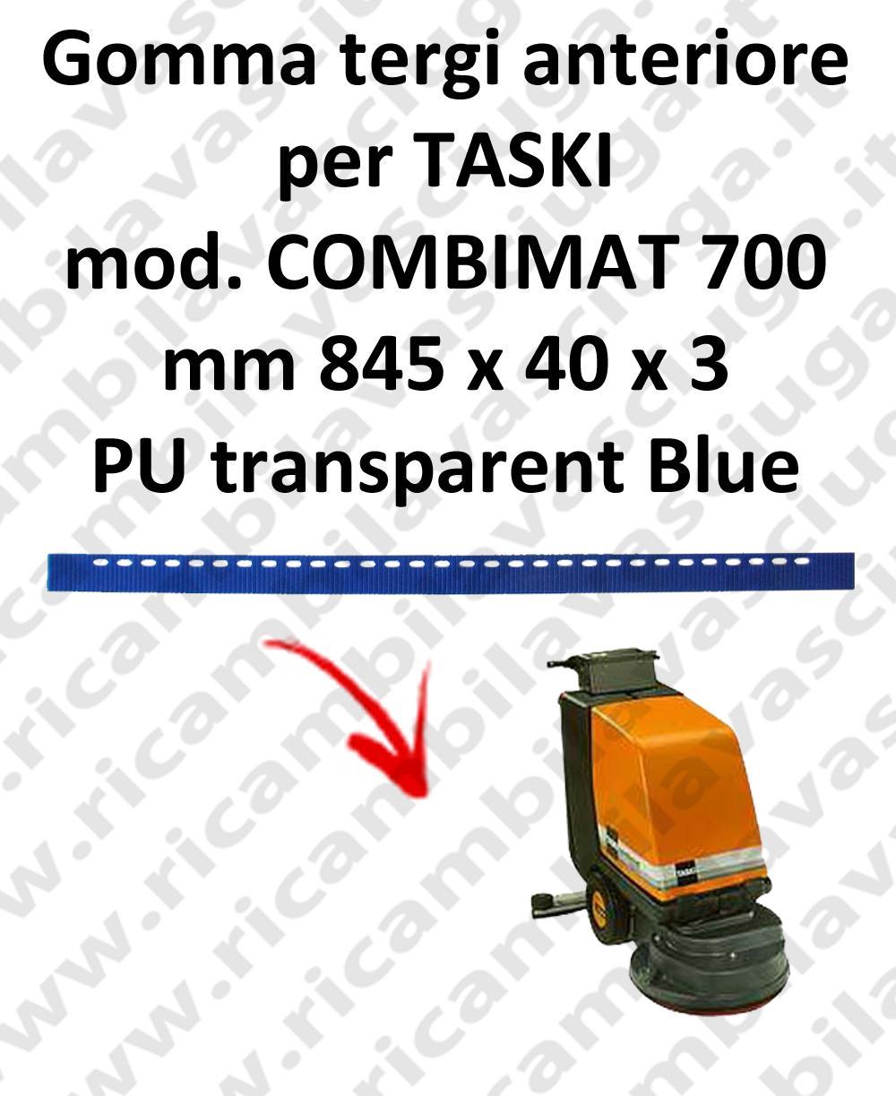 COMBIMAT 700 goma de secado fregadora delantera para TASKI