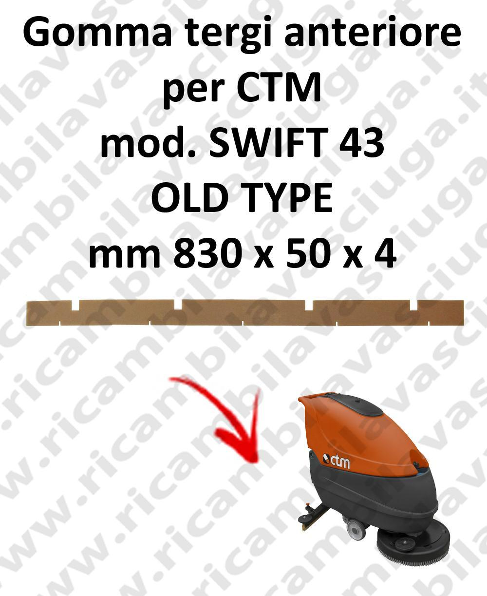 SWIFT 43 OLD TYPE goma de secado delantera para fregadora CTM