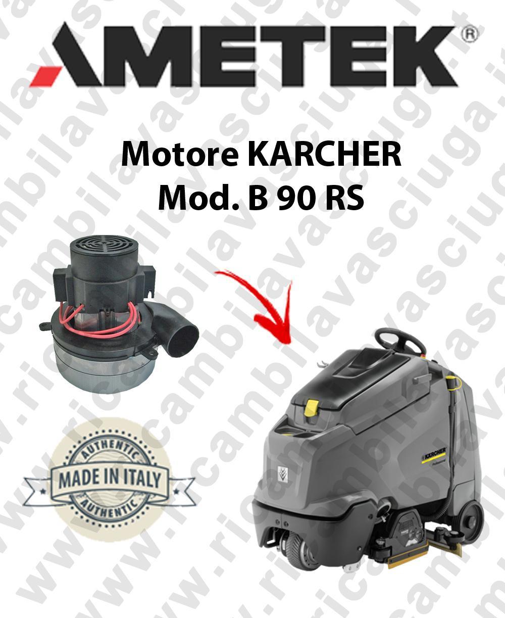 B 90 RS motor de aspiración AMETEK fregadora KARCHER