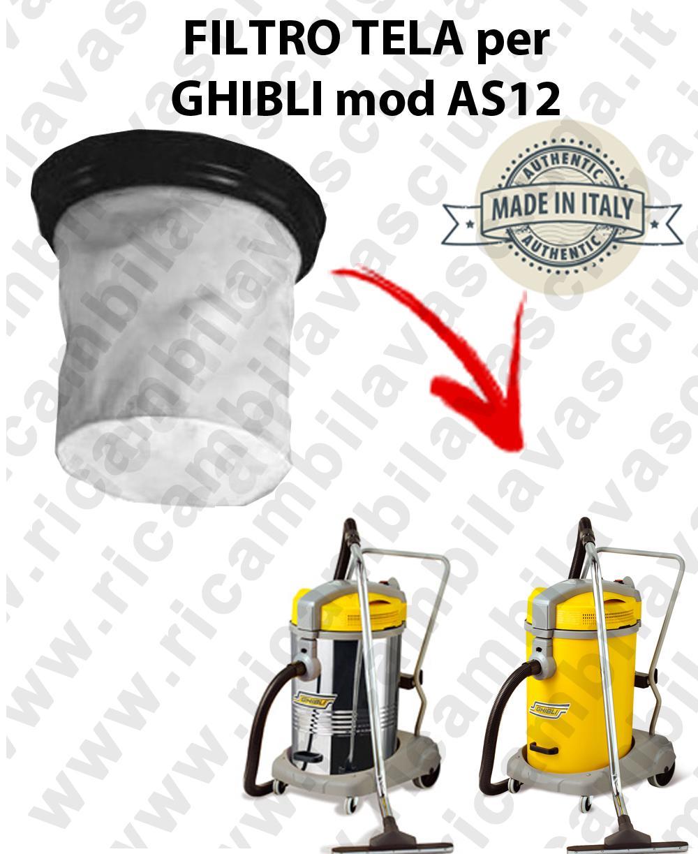 Filtro de tela para aspiradora GHIBLI Model AS 12
