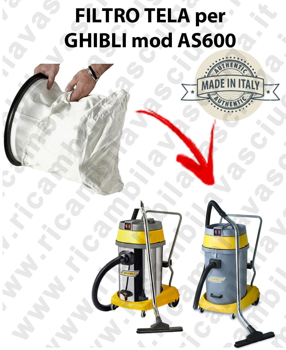 SACCO Filtro de Nylon cod: 3001220 para aspiradora GHIBLI Model AS600