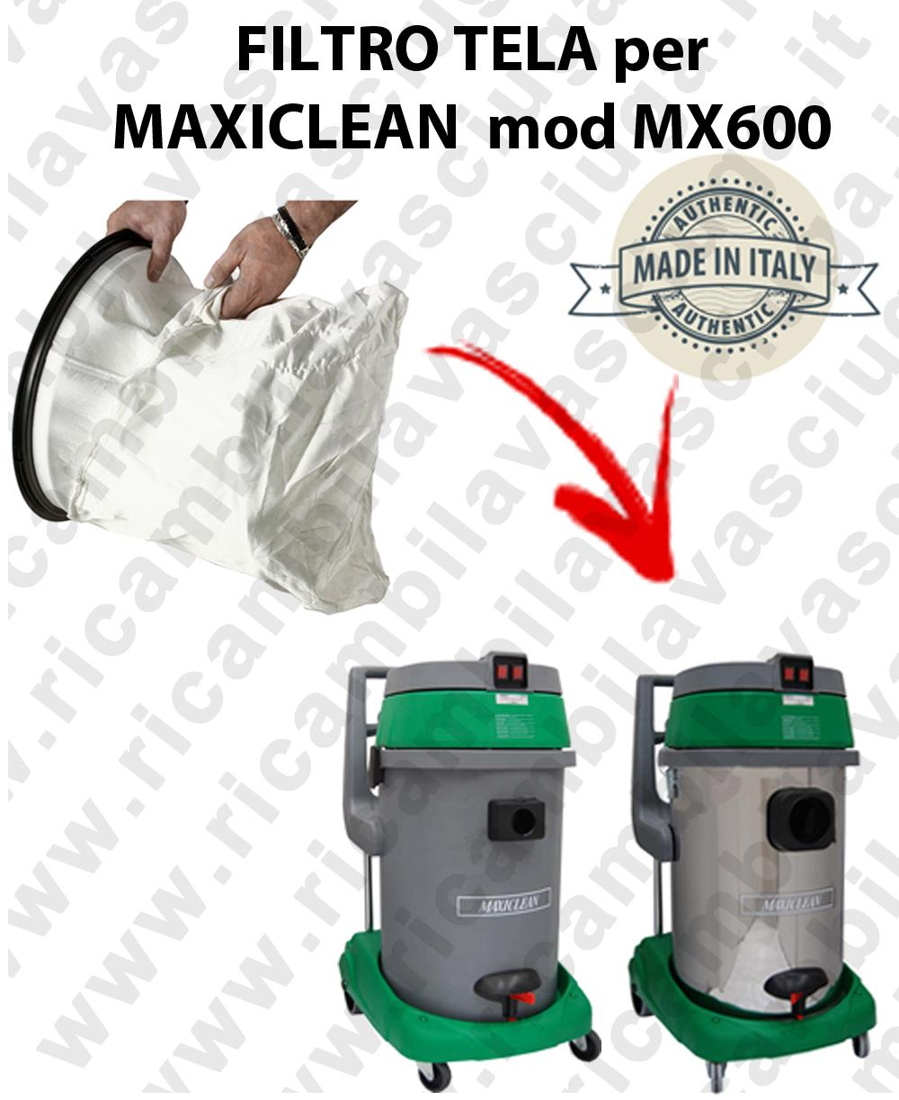 SACCO Filtro de Nylon cod: 3001220 para aspiradora MAXICLEAN Model MX600