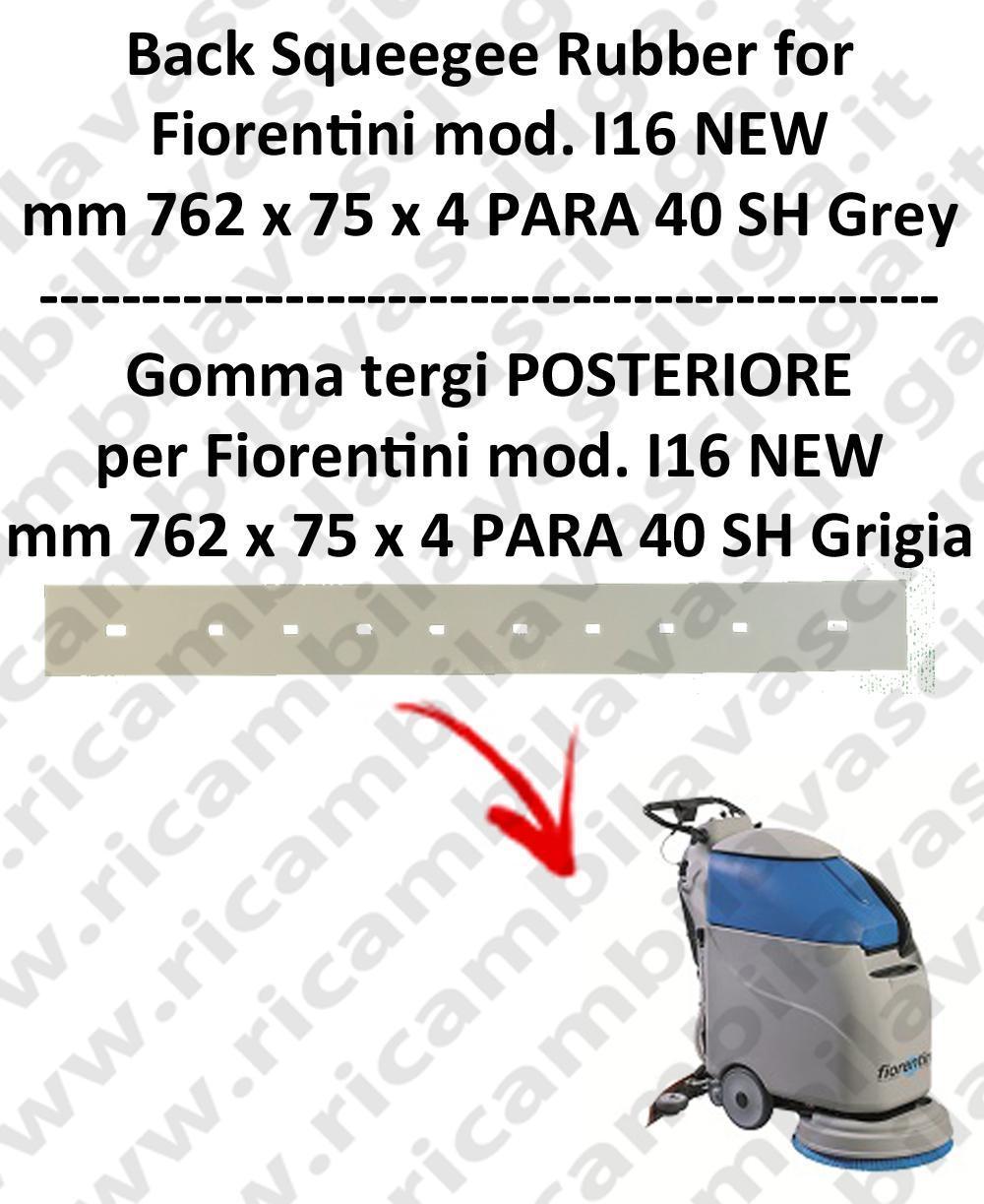I16 NEW goma de secado trasero GRIGIO para fregadora  FIORENTINI