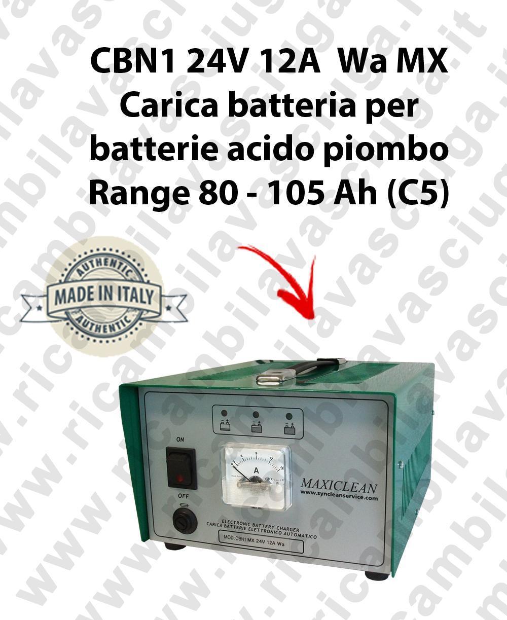 CBN1 24V 12A Wa MX carica batterie para batterie acido piombo