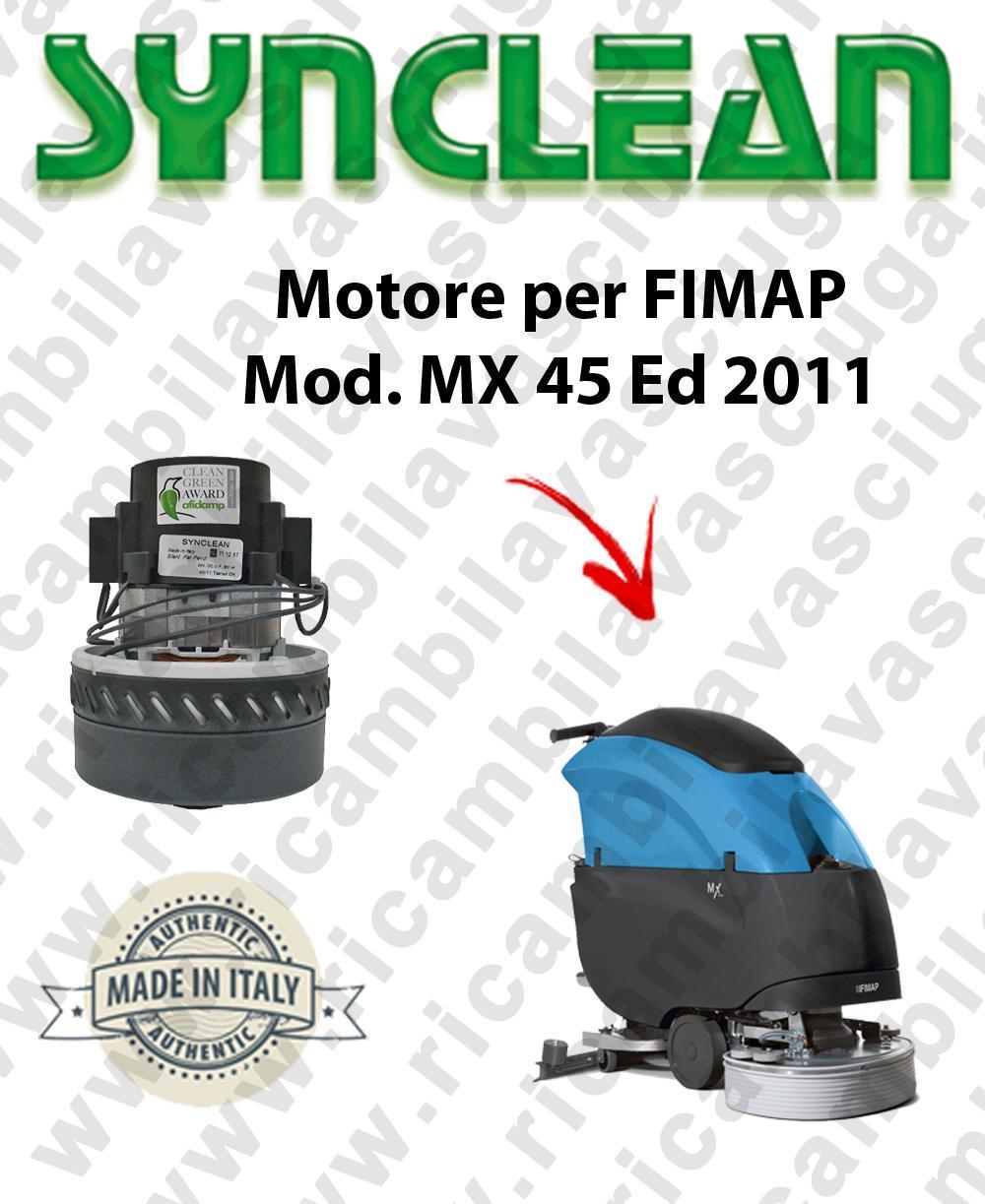 MX 45 Ed. 2011 motor de aspiración SYNCLEAN fregadora FIMAP