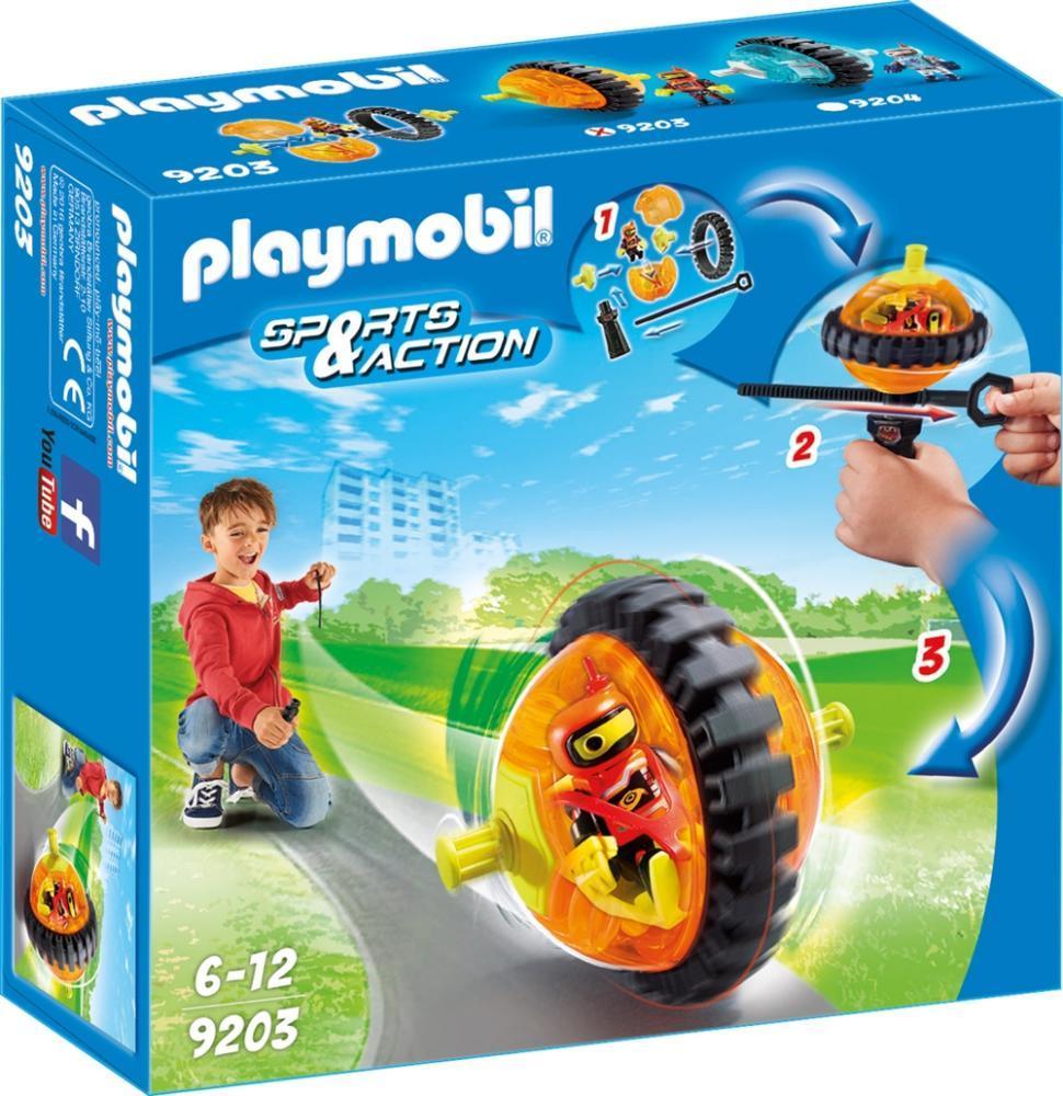 PLAYMOBI SPEED ROLLER ARANCIO CON ROBOT 9203