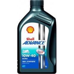 Shell Advance 4T Ultra 10w/40 barattolo 1 litro