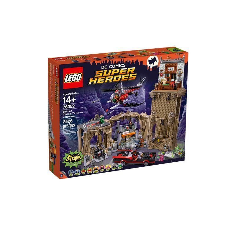 LEGO SUPER HEROES BATMAN CLASSIC SERIE TV BATCAVERNA 76052