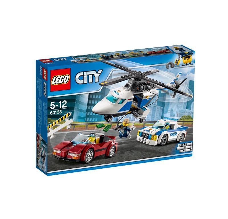 LEGO CITY INSEGUIMENTO AD ALTA VELOCITA' 60138