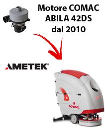 ABILA 42DS 2010 (von der Seriennummer 113002718) Saugmotor AMETEK für scheuersaugmaschinen Comac