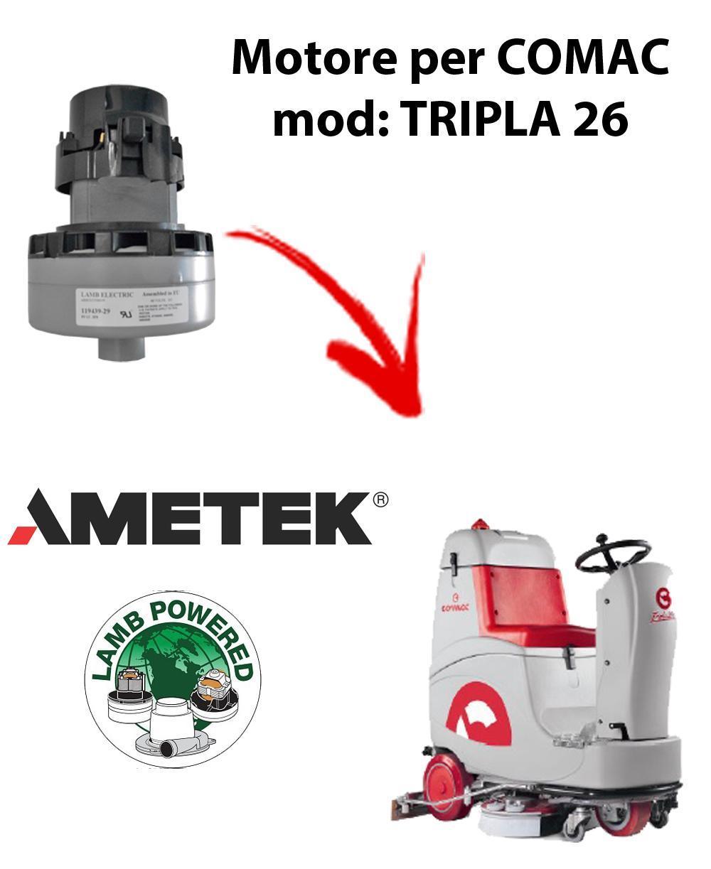 TRIPLA 26 Saugmotor AMETEK für scheuersaugmaschinen Comac