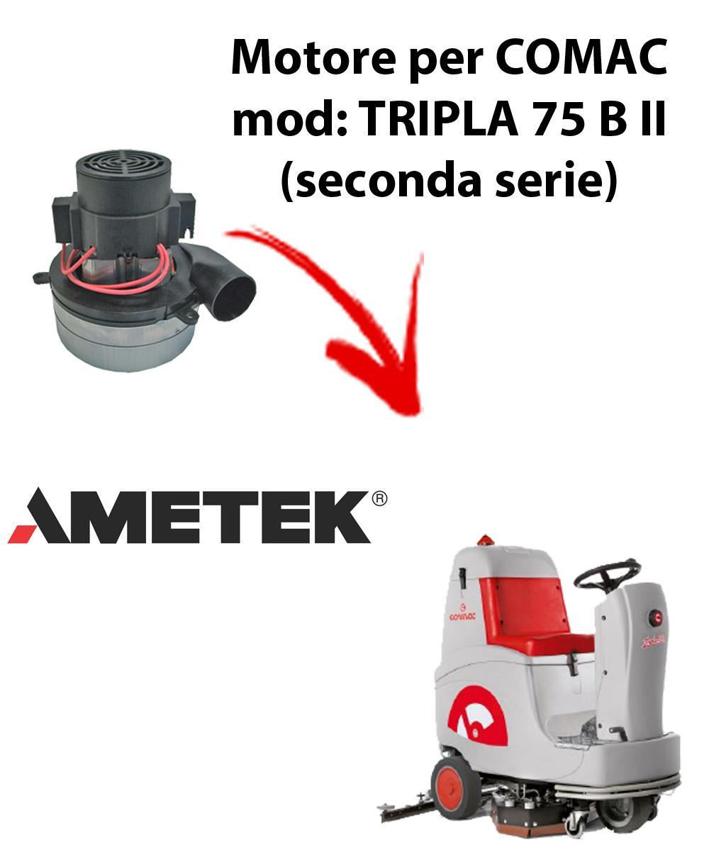 TRIPLA 75B II Saugmotor AMETEK ITALIA für scheuersaugmaschinen Comac