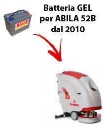 ABILA 52B Batterie für scheuersaugmaschinen COMAC von 2010