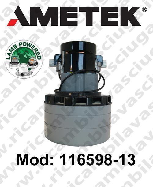 116598-13 Saugmotor AMETEK für scheuersaugmaschinen