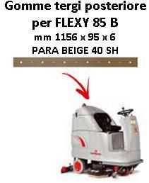FLEXY 85 B Hinten Sauglippen für scheuersaugmaschinen COMAC