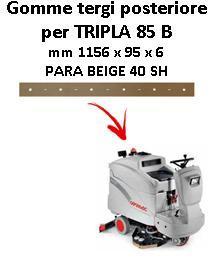 TRIPLA 85 B Hinten Sauglippen für scheuersaugmaschinen COMAC
