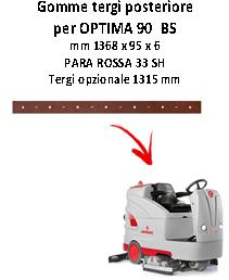 OPTIMA 90 BS Hinten Sauglippen für scheuersaugmaschinen COMAC