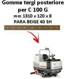 C 100 G Hinten Sauglippen für scheuersaugmaschinen COMAC