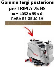 TRIPLA 75 BS Hinten sauglippen für scheuersaugmaschinen COMAC