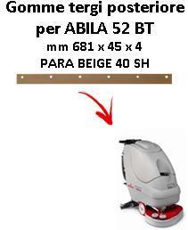ABILA 52 BT Hinten sauglippen für scheuersaugmaschinen COMAC