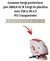 ABILA 2010 42 B Hinten sauglippen für scheuersaugmaschinen COMAC