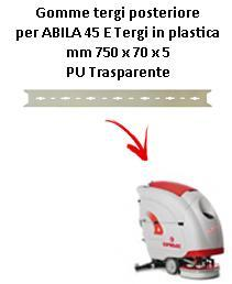 ABILA 2010 45 ünd Hinten sauglippen für scheuersaugmaschinen COMAC