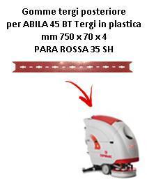 ABILA 2010 45 BT Hinten sauglippen für scheuersaugmaschinen COMAC
