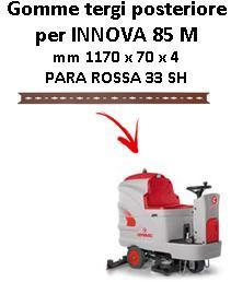 INNOVA 85 M Hinten sauglippen für scheuersaugmaschinen COMAC