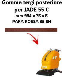 JADE 55 C Hinten sauglippen für scheuersaugmaschinen ADIATEK