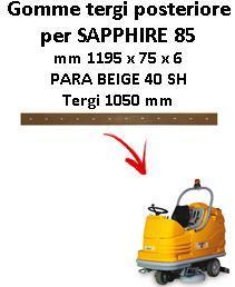 SAPPHIRE 85 Hinten sauglippen für scheuersaugmaschinen ADIATEK
