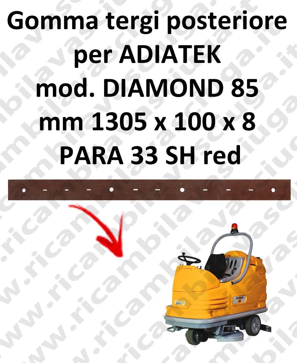DIAMOND 85 Hinten sauglippen für scheuersaugmaschinen ADIATEK