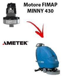 MINNY 430 Saugmotor Ametek für scheuersaugmaschinen FIMAP