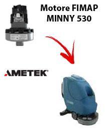 MINNY 530 Saugmotor Ametek für scheuersaugmaschinen FIMAP