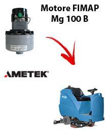 Mg 100 B Saugmotor Ametek für scheuersaugmaschinen FIMAP