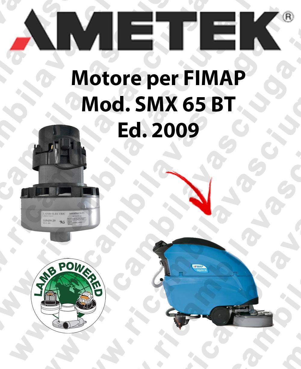 SMX 65 BT 2009 Saugmotor LAMB AMETEK für scheuersaugmaschinen FIMAP