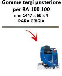 RA 100 100 Hinten sauglippen für scheuersaugmaschinen COLUMBUS