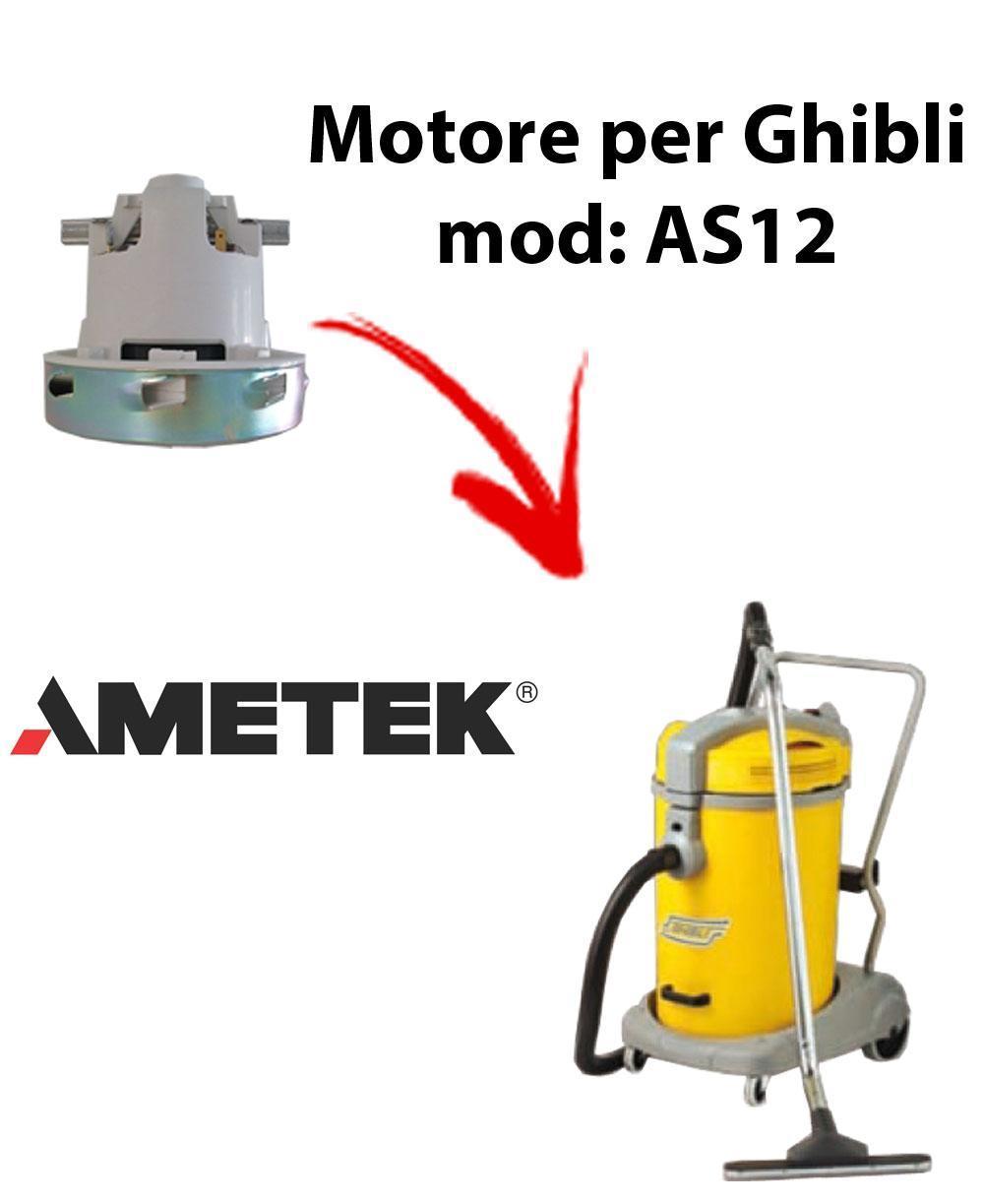 AS12 Saugmotor AMETEK für Staubsauger GHIBLI
