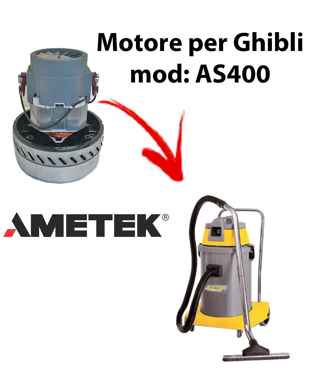 AS400 Saugmotor AMETEK für Staubsauger GHIBLI