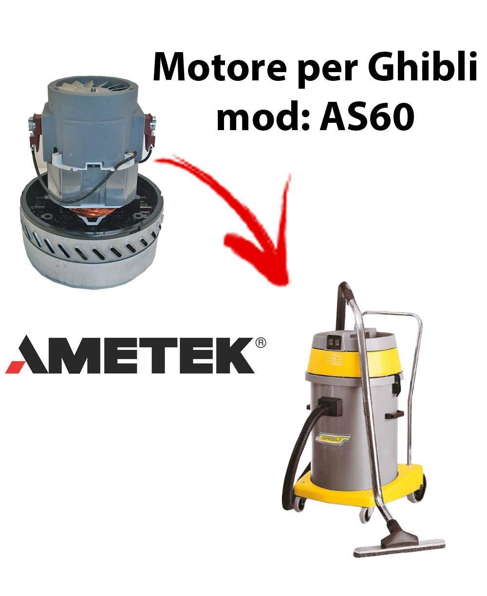 AS60 Saugmotor AMETEK für Staubsauger und Trockensauger GHIBLI