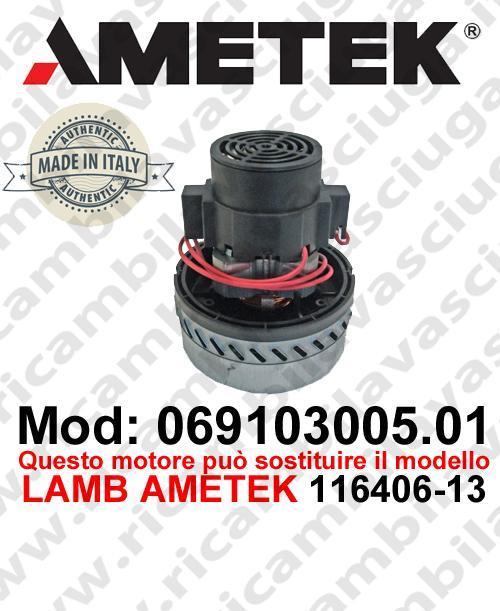 069103005.01 Saugmotor AMETEK ITALIA für scheuersaugmaschinen