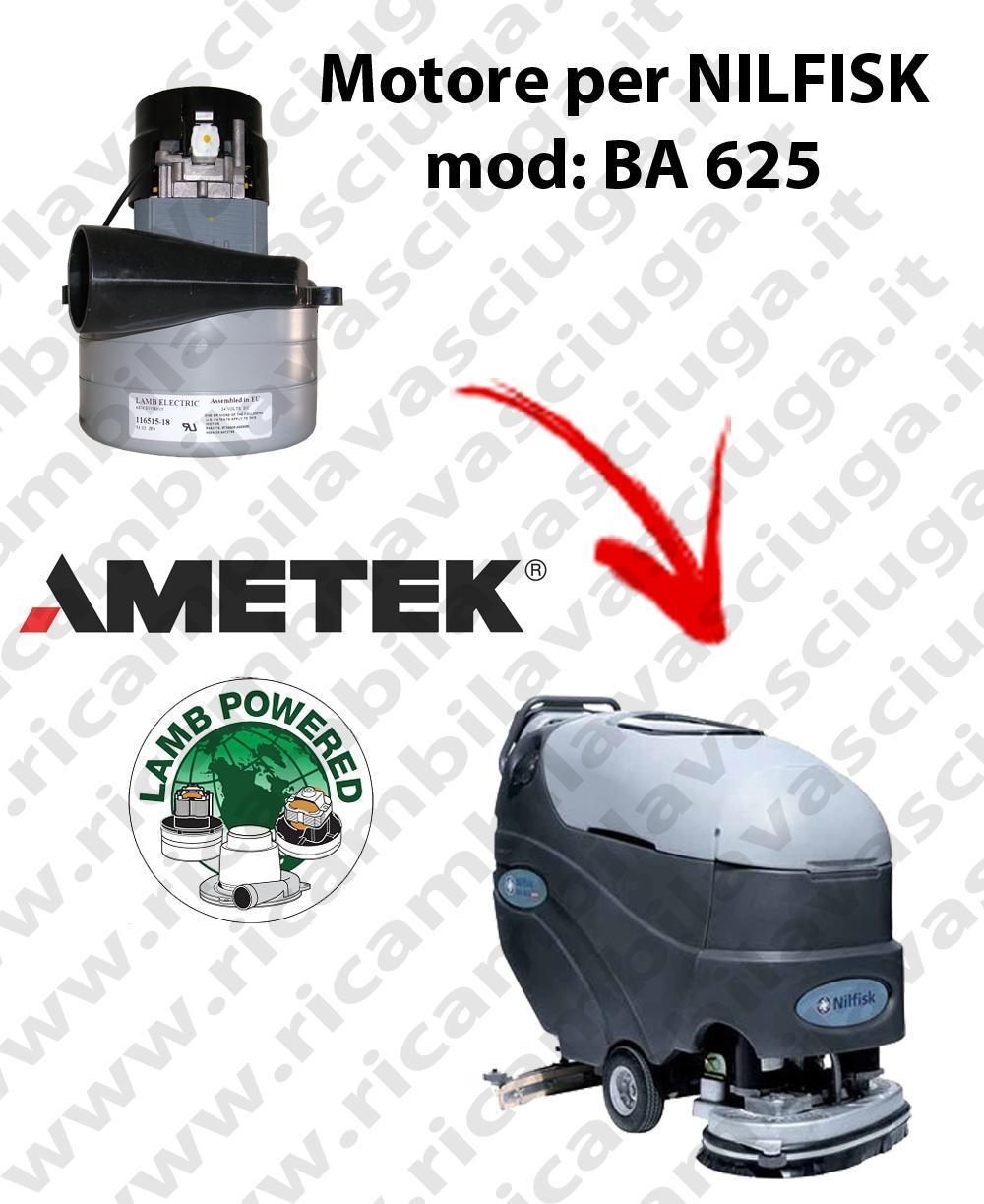 BA 625 Saugmotor LAMB AMETEK für scheuersaugmaschinen NILFISK