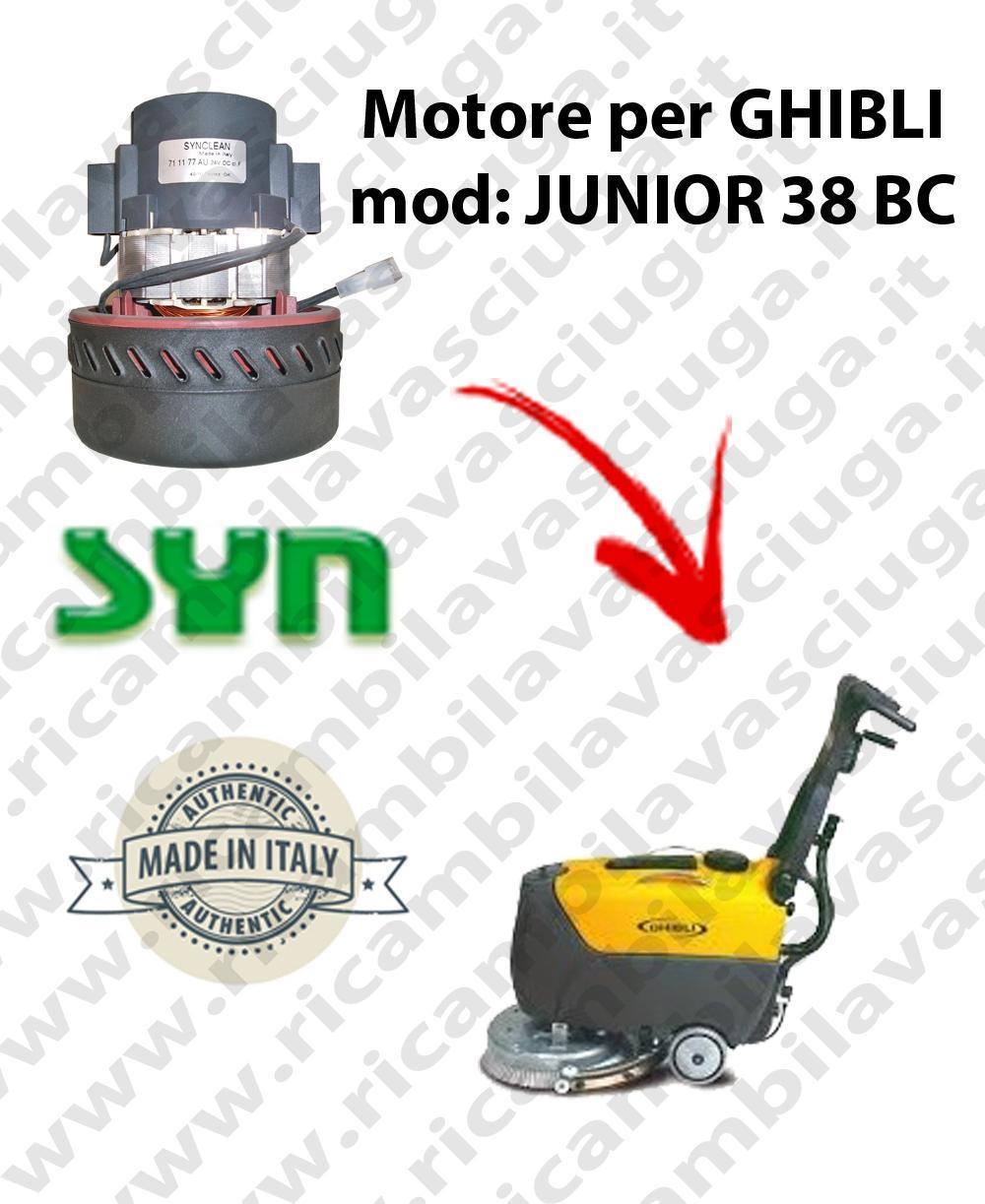 JUNIOR 38 BC Saugmotor SYNCLEAN für scheuersaugmaschinen GHIBLI